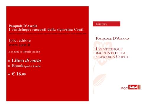 Pasquale D'ascola I-venticinque-racconti-della-signorina-Conti