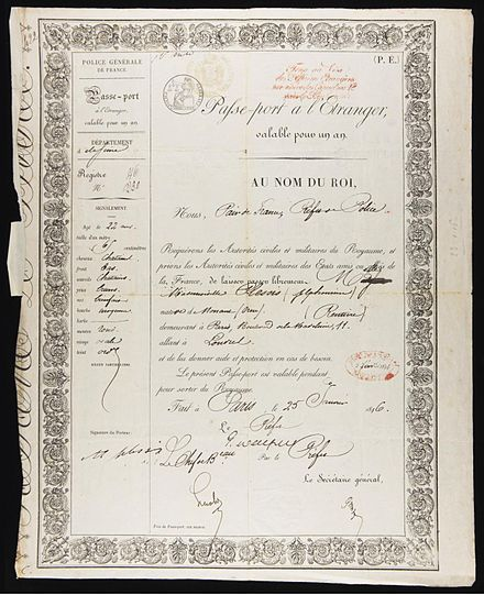 440px-Alphonsine_Plessis_passport_1846