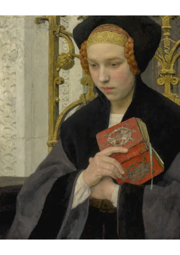 Reverie, c. 1918 by Edgard Maxence (1871-1954)