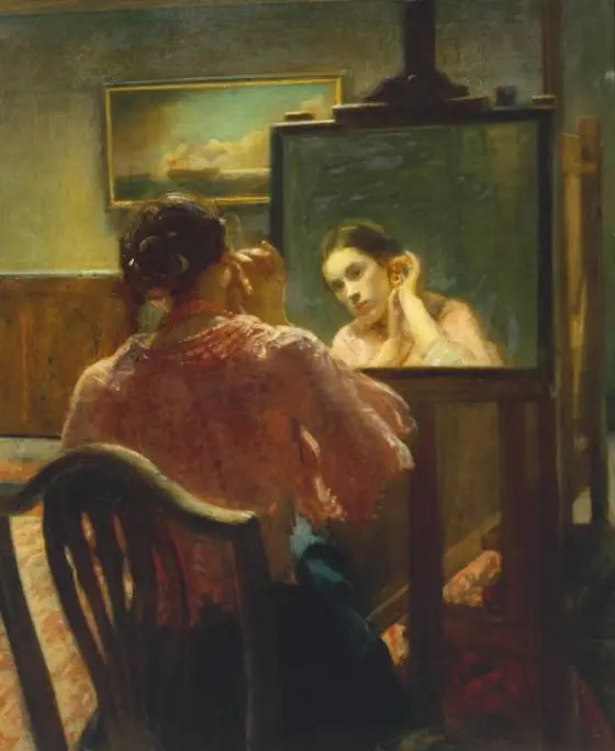 The Ear-Ring, 1911 by Ambrose McEvoy (1878-1927)